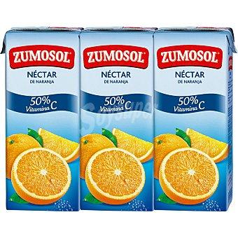Zumosol Zumo concentrado de naranja con vitamina C 3 bricks de 200 ml