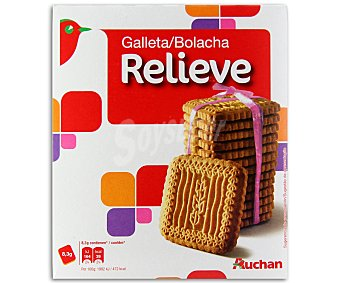 Auchan Galletas relieve Paquete de 700 gramos