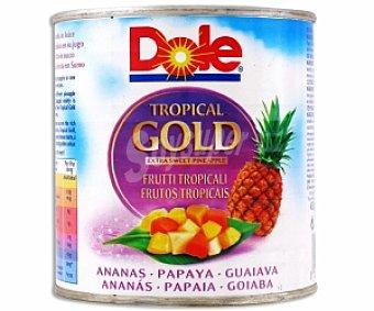 Dole Cocktail de frutas tropicales en almíbar 263 Gramos
