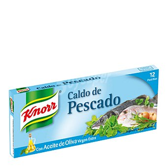 Knorr Caldo de pescado 12 pastillas