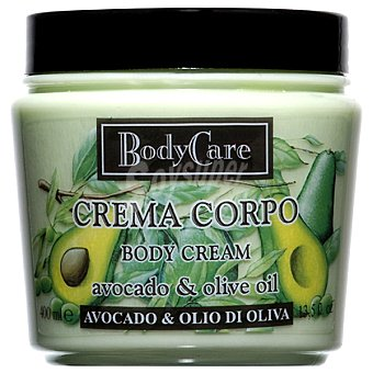 BODYCARE Crema corporal Avocado & Olive Oil Tarro 400 ml