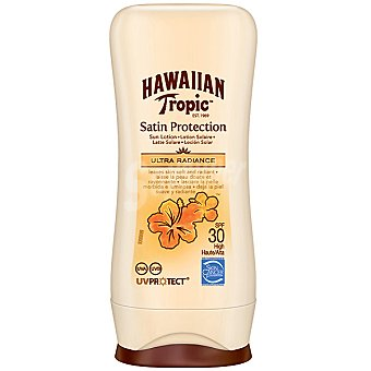 HAWAIIAN TROPIC Satin Protection Loción solar FP-30 Satin Protection (tamaño viaje resistente al agua) Frasco 100 ml