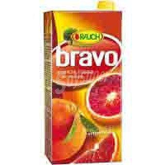 Bravo Néctar de naranja roja 30% Brik 2 litros