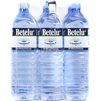 Betelu Agua mineral natural Pack 6x1,5 litros