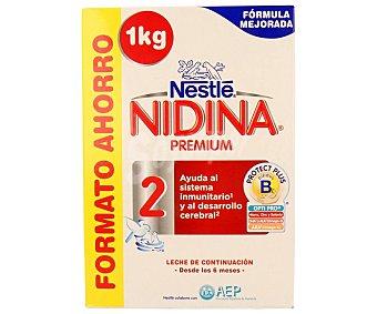 Nestlé Leche (2) de continuación a partir de 6 meses nidina 1000 g