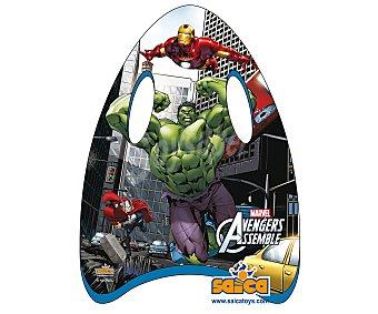 Marvel Minitabla de body board recubieta de PVC de 45 centímetros y con el diseño de tus personajes favoritos de la película Los Vengadores 1 unidad 1 unidad