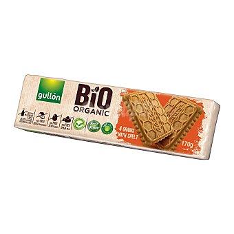 Gullón Galletas 4 cereales bio organic paquete 170 gr paquete 170 gr