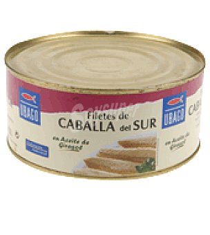 Ubago Filete caballa aceite vegetal 620 g