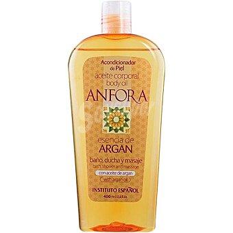 Anfora Aceite corporal con aceite de argan acondicionador de piel Frasco 400 ml