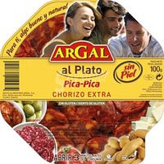Argal Chorizo Plato de 100 g