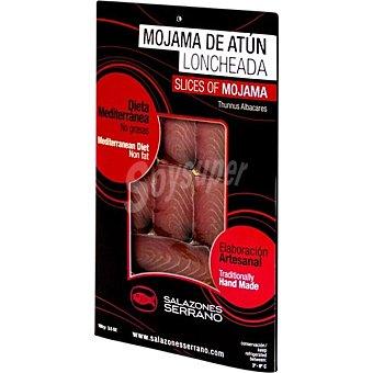 Salazones Serrano Mojama de atún loncheada estuche 100 g