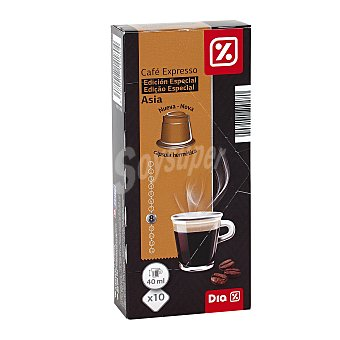 DIA Capsulas de cafe asia Estuche 10 unidades
