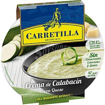 Carretilla Crema campestre de calabacín con queso parmesano bol 300 g