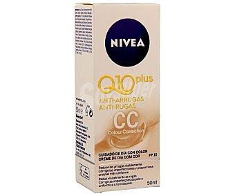 NIVEA Q10 Crema antiarrugas (reduce eficazmente las arrugas, alisa y suaviza la superficie de la piel y da al rostro un aspecto más terso y joven) 50 mililitros