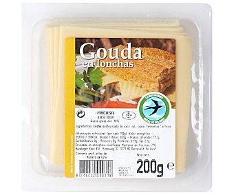 La Golondrina Queso Gouda en lonchas 200 g