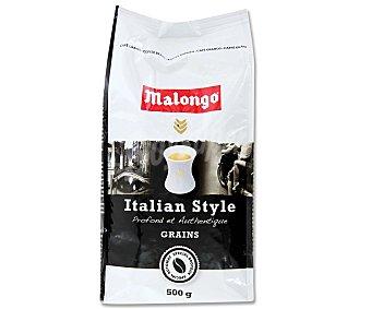 Malongo Café en grano natural Italian Style 500 g