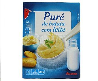 Auchan Puré de patatas con leche 250 gramos