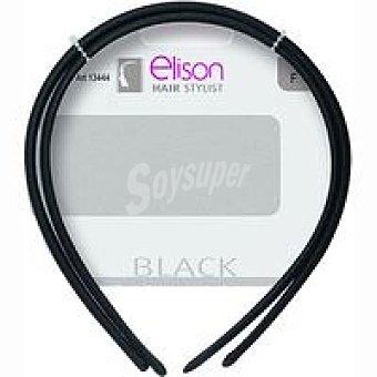 ELISON Diadema clasic black Pack 2 unid