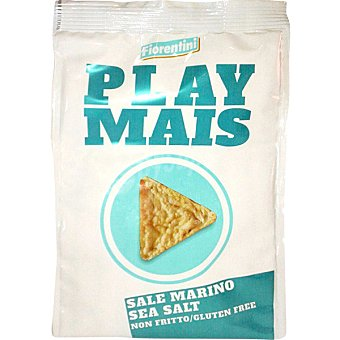 FIORENTINI Play Mais Tortas de maíz sabor sal de mar bolsa 40 g Bolsa 40 g