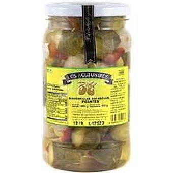 Los Aceituneros Ensartados 5 frutos picante Tarro 650 g