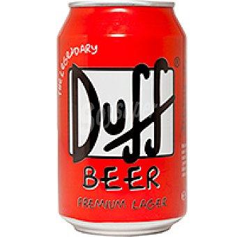 DUFF Simpson Cerveza Lata 33 cl
