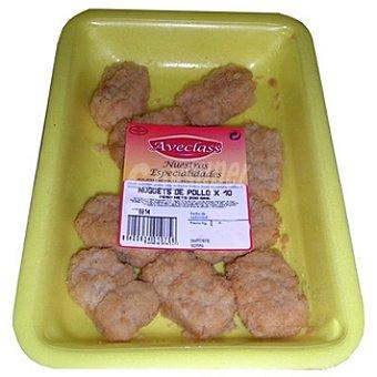 AVECLASS Nuggets pollo bandeja 200 g 10 unidades