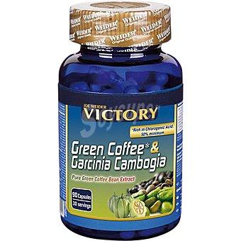 VICTORY Café verde con Garcinia Cambogia quemagrasas 90 capsulas