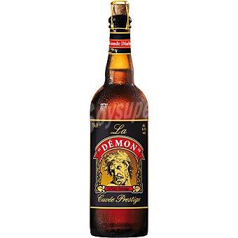 LA BIÈRE DU DEMON Cerveza rubia francesa  botella 33 cl