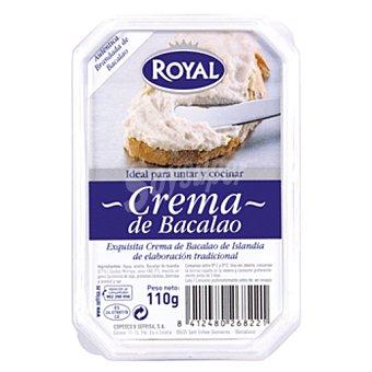 Royal Crema de bacalao Bandeja 110 g