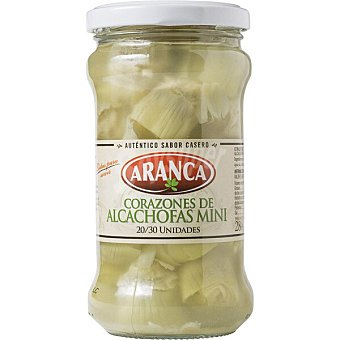 Aranca Alcachofas mini Frasco 165 g neto escurrido