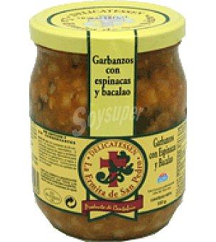 La ermita delicatessen Garbanzos con espinacas y bacalao delicatessen 500 g