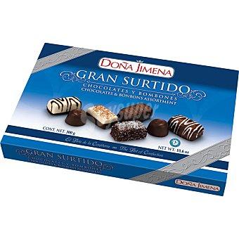 Doña Jimena Gran surtido chocolates y bombones estuche 300 g Estuche 300 g