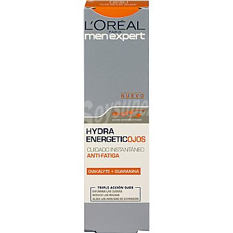 Men Expert L'Oréal Paris Crema anti-ojeras cuidado instantáneo anti-fatiga triple acción ojos Tubo 15 ml