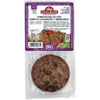 Natursoy Hamburguesa de tofu-espelta-calabacín Bandeja 150 g