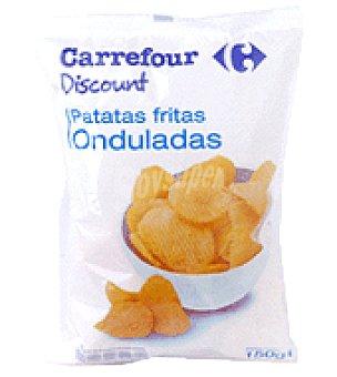 Carrefour Discount Patatas onduladas 150 g