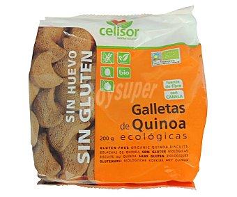 CELISOR Galletas de quinoa ecológicas 200 g