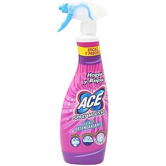 Ace Limpia hogar mousse con lejía + desengrasante Spray 700 ml