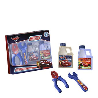 Cars Estuche gel 120 ml. + champú 120 ml. + alicates 1 ud