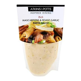 Atkins Salsa Mascarpone y ajo 350 g