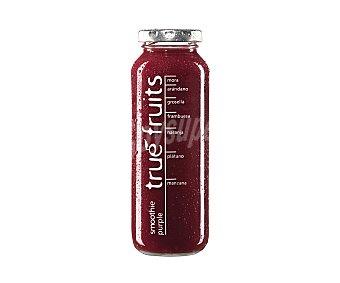 TRUE FRUITS Preparado de zumo de frutas (smoothie purple) 25 cl