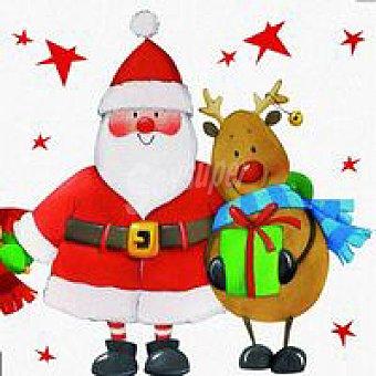 Servilletas Amigos Navidad 20 unidades