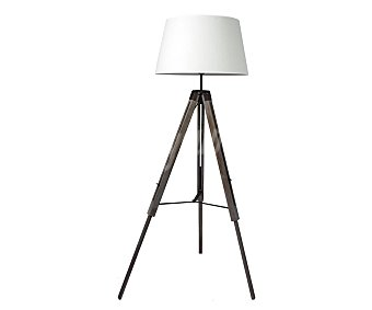 Dupi Lámpara de pie madera de estilo trípode color blanco tipo de bombilla: E27 1XMAX 60X, DUPI.