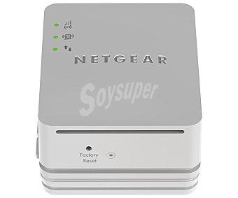 NETGEAR WN1000RP Repetidor de señal, aumenta la cobertura y elimina zona muertas wifi existentes, Tecnología wifi 802.11n, Band 2.4GHz, N150,