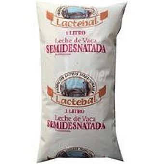 Lactebal Leche Fresca Semidesnatada Bolsa 1 litro