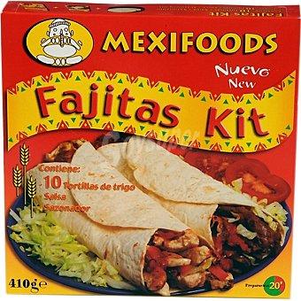 Mexifoods Fajitas kit Paquete 410 g