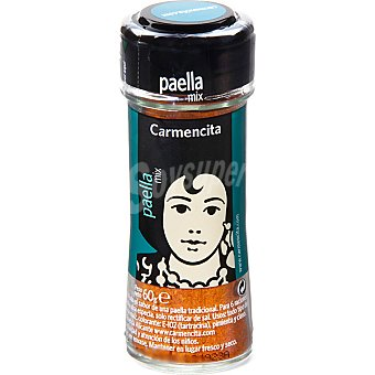 Carmencita Sazonador especial para paella Frasco 60 g