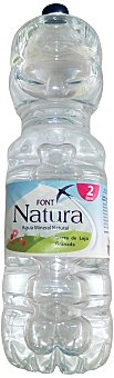 FONT NATURA Agua mineral natural Botella 2 l