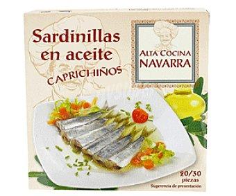 Alta Cocina Navarra Sardinillas en Aceite Vegeltal Sardinilla A.Vegetal215g
