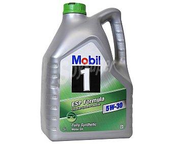 Mobil Lubricante Sintético para vehículos gasolina y diésel 5 Litros