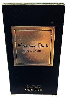 MASSIMO DUTTI Eau toilette hombre in black vaporizador Botella de 50 cc